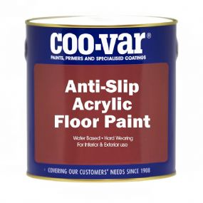 CooVar Acrylic  Water Based Anti Slip Floor Paint | paints4trade.com